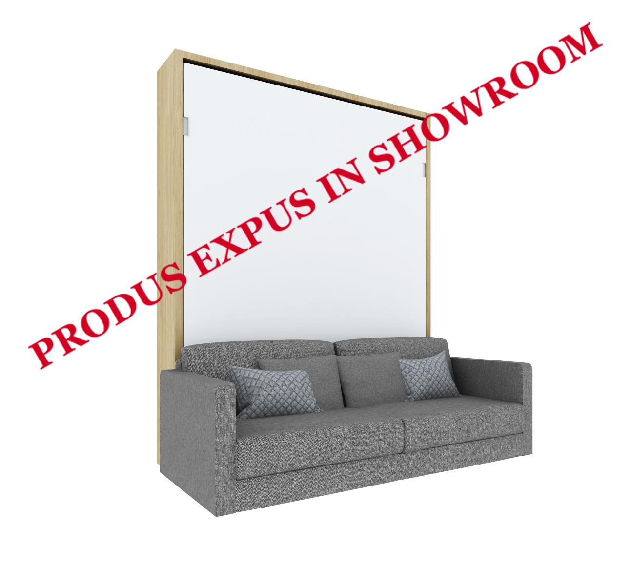 Pat Rabatabil Vertical cu canapea – SmartBed V Sofa