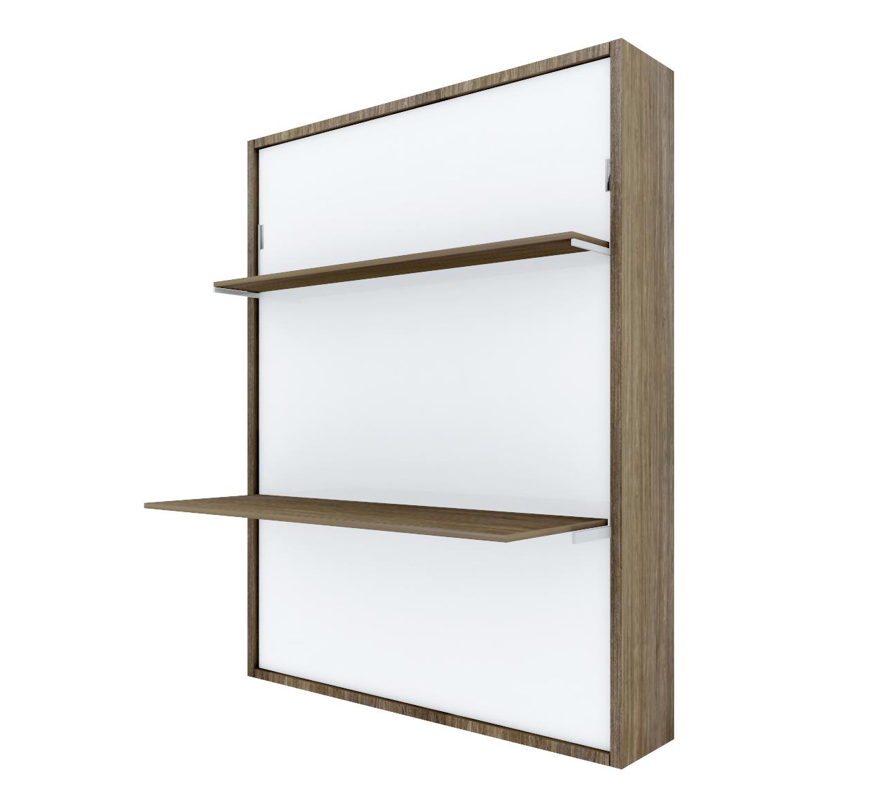 PAT RABATABIL CU BIROU&RAFT – SmartBed V Desk&Shelf