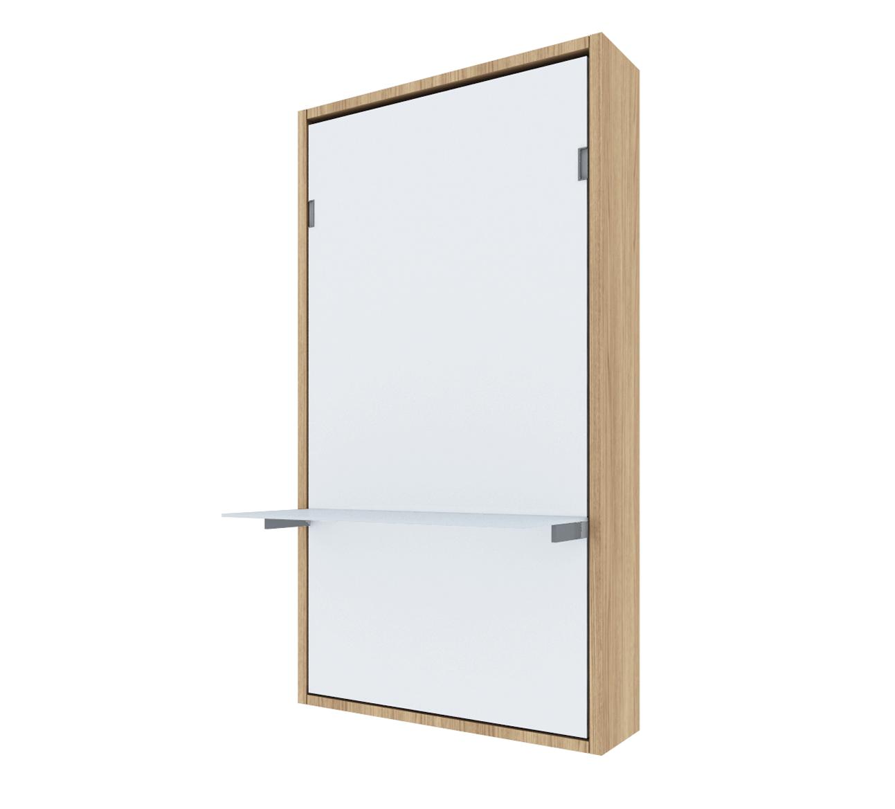 Pat rabatabil vertical cu birou – SmartBed Desk