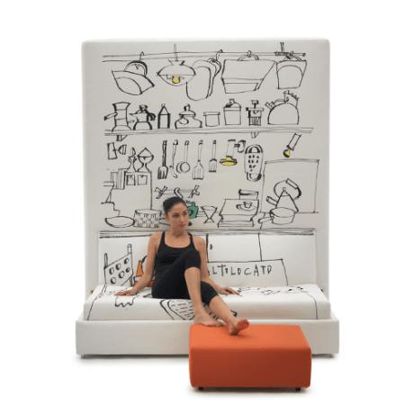 Pat rabatabil cu Sofa – 365