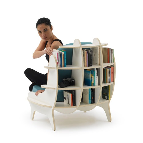 Fotoliu Biblioteca – Shelf