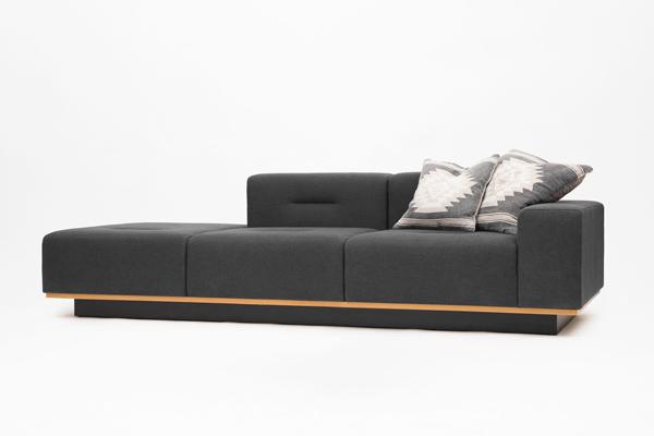 Canapea modulara in stil scandinav