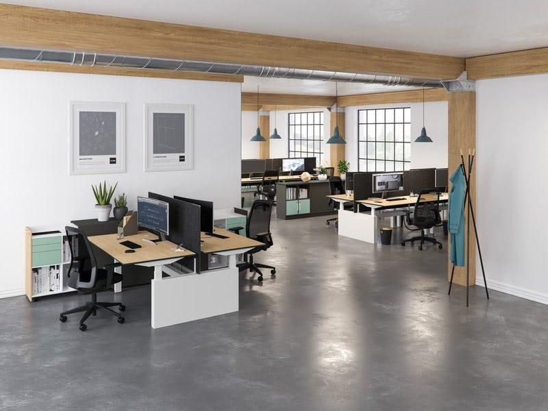 amenajare spatiu birouri reglabile