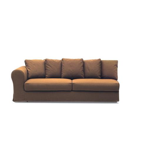 Ara divano3 posti maxi 1bracciolo chiuso