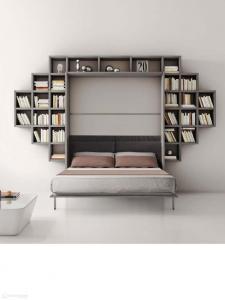 meble-wielofunkcyjne-łózko-w-szafie-z-biblioteką-04-773x1030
