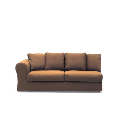 Ara divano3 posti 1bracciolo chiuso